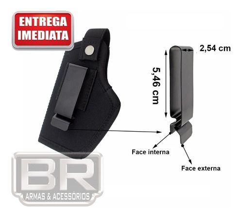 Coldre Universal Para Todo Tipo De Pistolas - Ambidestro