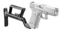 Coronha Retrátil Tac para pistolas Glock - Ideal para caça e defesa