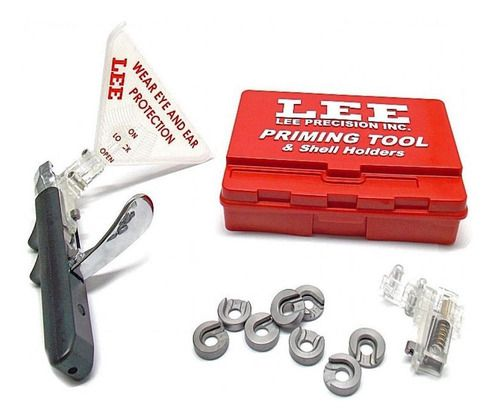 Espoletador Lee Com Shell Holder Priming Tool Kit