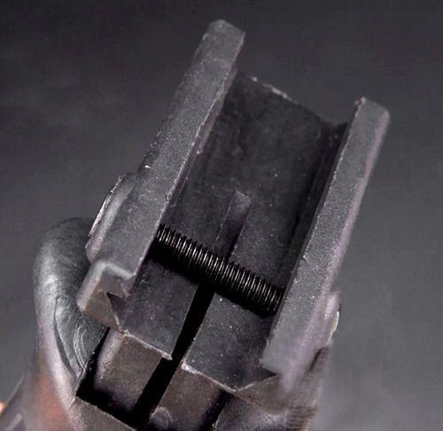 Foregrip Para Trilhos De 20mm Apoiador De Mão Para Armas