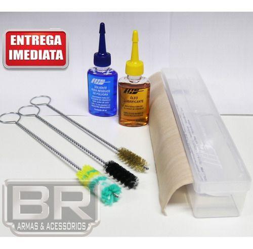 Kit Completo Lh Limpeza Armas Curtas .45, 45 Acp, 45 Auto