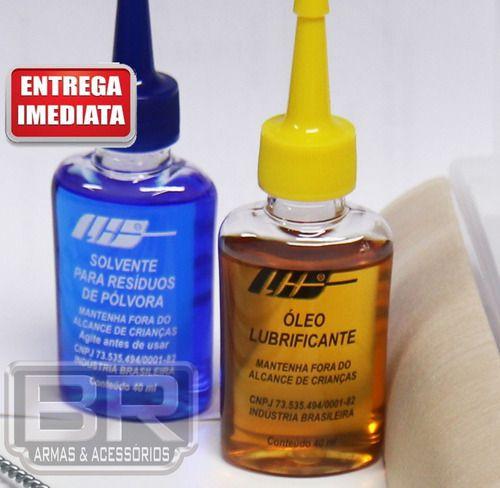 Kit Completo Limpeza Armas Curtas .22 Todos 6.35mm
