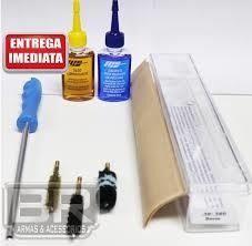 Kit Prático Limpeza Lh Armas Curtas - Calibre .45 45acp