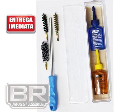 Kit Prático Limpeza Lh Armas Longas - Calibre .38/.380/9mm