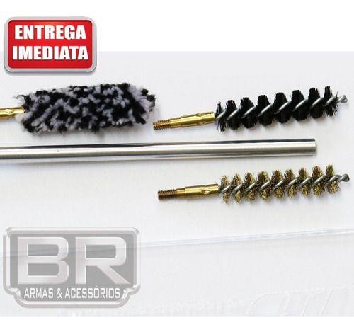 Kit Prático Limpeza Lh Armas Longas - Calibre 7,62x51 308win