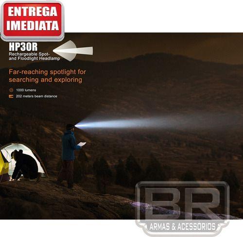 Lanterna De Cabeça Fenix 1750 Lumes Mais Potente Do Mundo