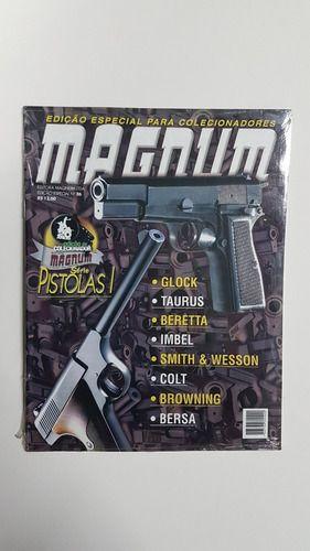 3 Edições Especiais De Pistolas Revista Magnum - Novas