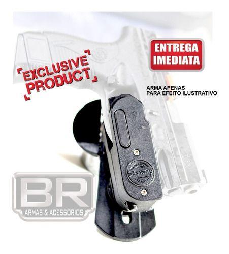 Coldre Ipsc Idcs Saque Rápido Todas Pistolas Glock