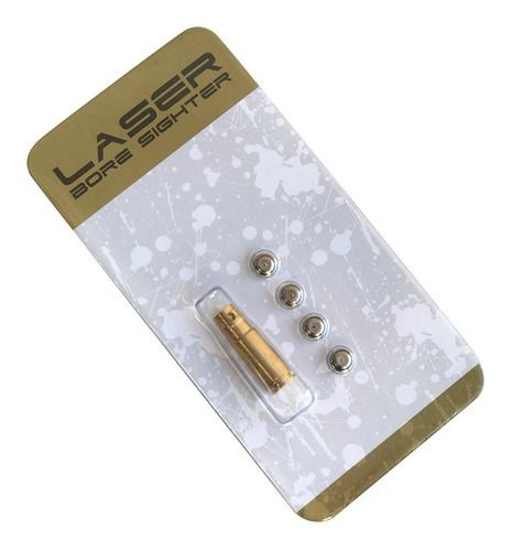 Colimador Bore Sighter Laser Regulagem De Mira Calibre 9mm