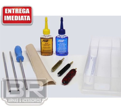 Kit Prático Limpeza Lh Armas Longas Calibre 44special 44ma