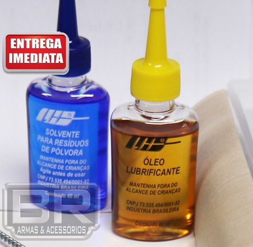 Kit Completo Limpeza Armas Curtas .765, .32 Auto, .32 Lr.