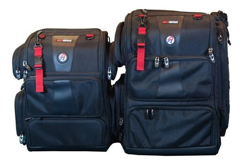 Mochila Double Alpha Média, Range Bag Para Ipsc E Tiro