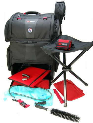 Mochila Double Alpha Combo Rangepack Pro And Rangecart Pro