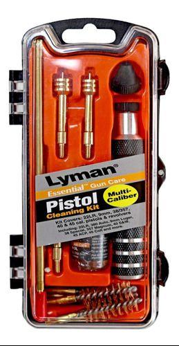 Kit De Limpeza Lyman .380 , 9mm, 22 /38/357, 40 E 45