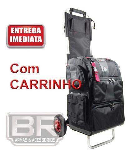 Mochila Double Alpha Rangepack Medium Com Rangecart Pro