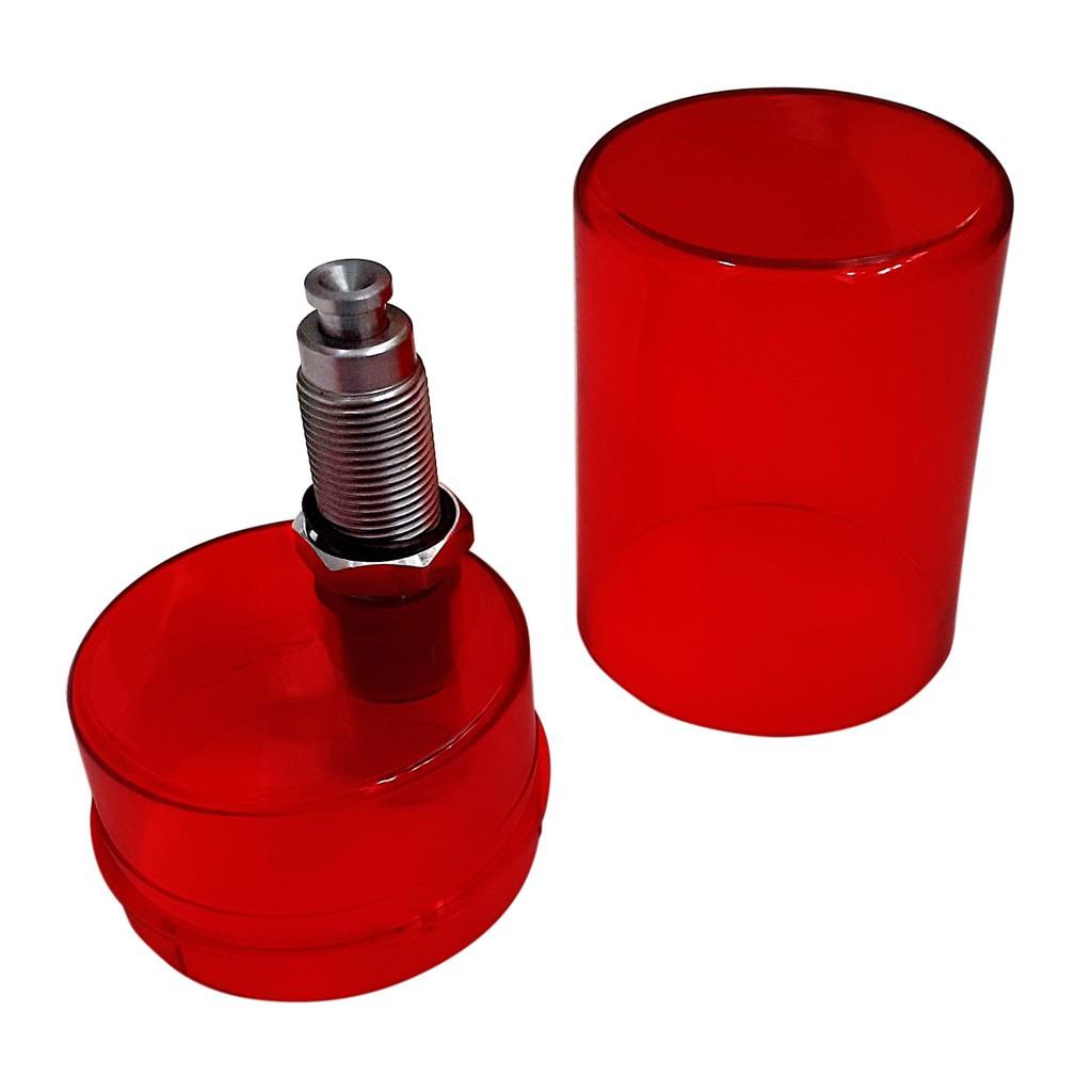 Kit Calibrador Lee .356 Para 380, 9mm E Outros