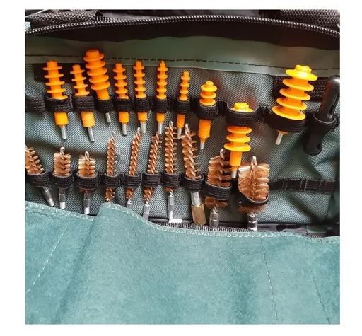 Kit Universal De Limpeza Armas Remington 32 Peças C Squeeg-e
