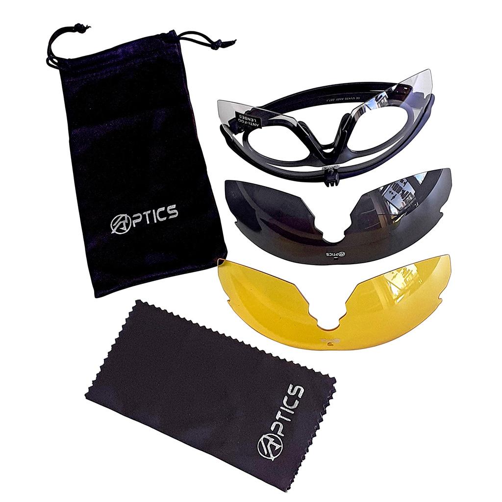 Óculos para Atirador Double  Alpha