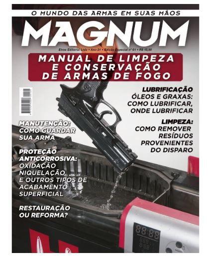 Revista Magnum Edição 61 Conservação De Armas Novo