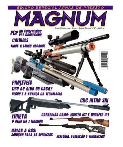 Revista Magnum Especial Armas De Pressão Edição 57 Novo