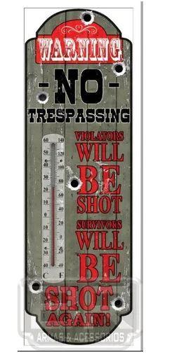 Termômetro Decorativo Placa De Aviso Demostra A Temperatur