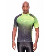Camisa Ciclismo Degrade Verde