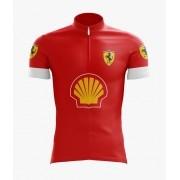 Camisa Ciclismo Ferrari