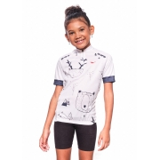 Camisa Ciclismo Infantil Polar