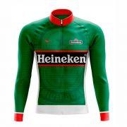 Camisa De Ciclismo Heineken Manga Longa