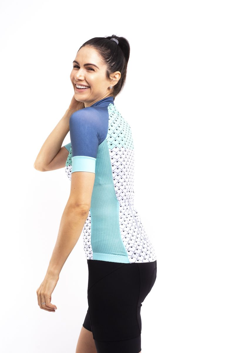 Camisa De Ciclismo AQUA