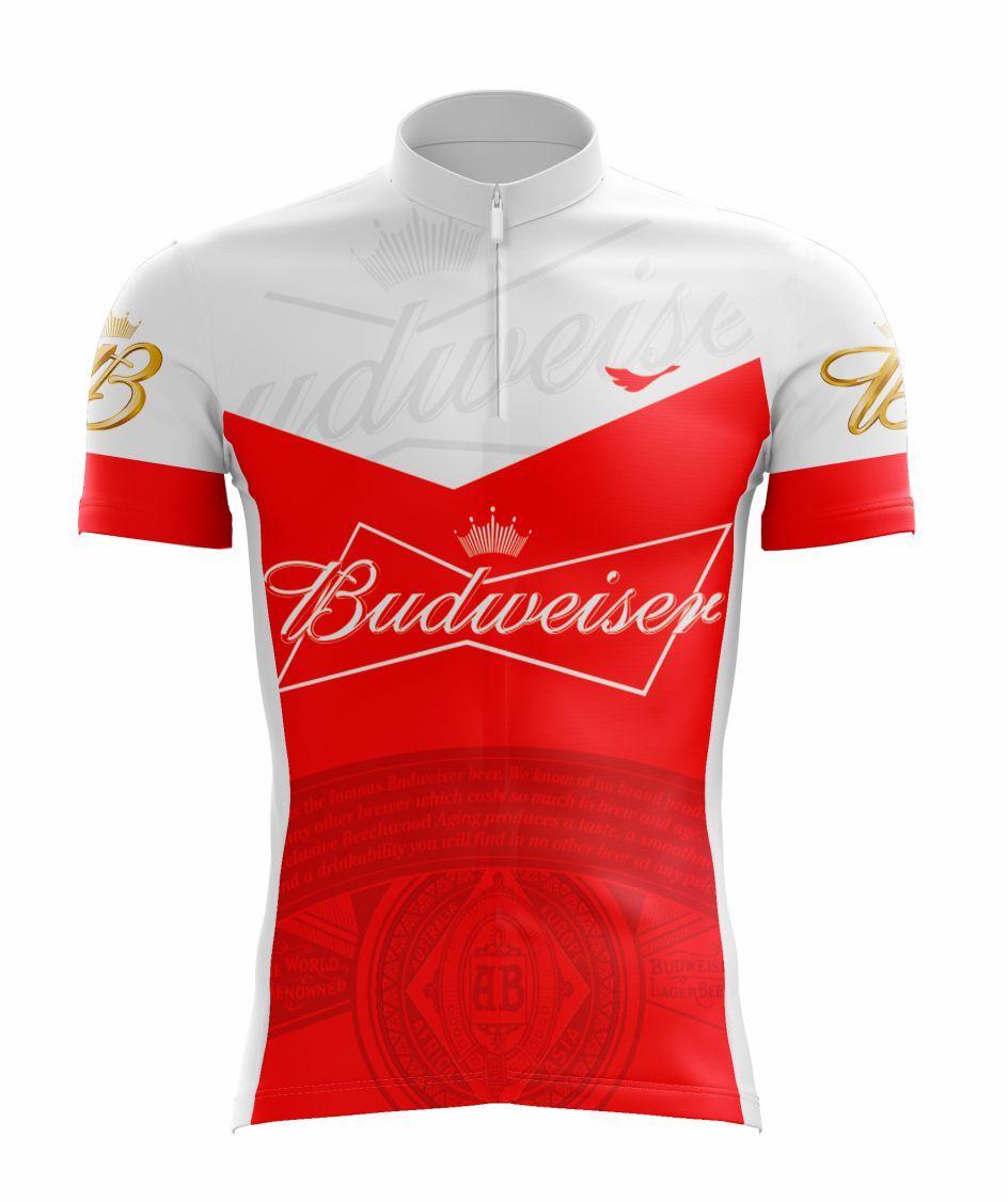 Camisa De Ciclismo Budweiser