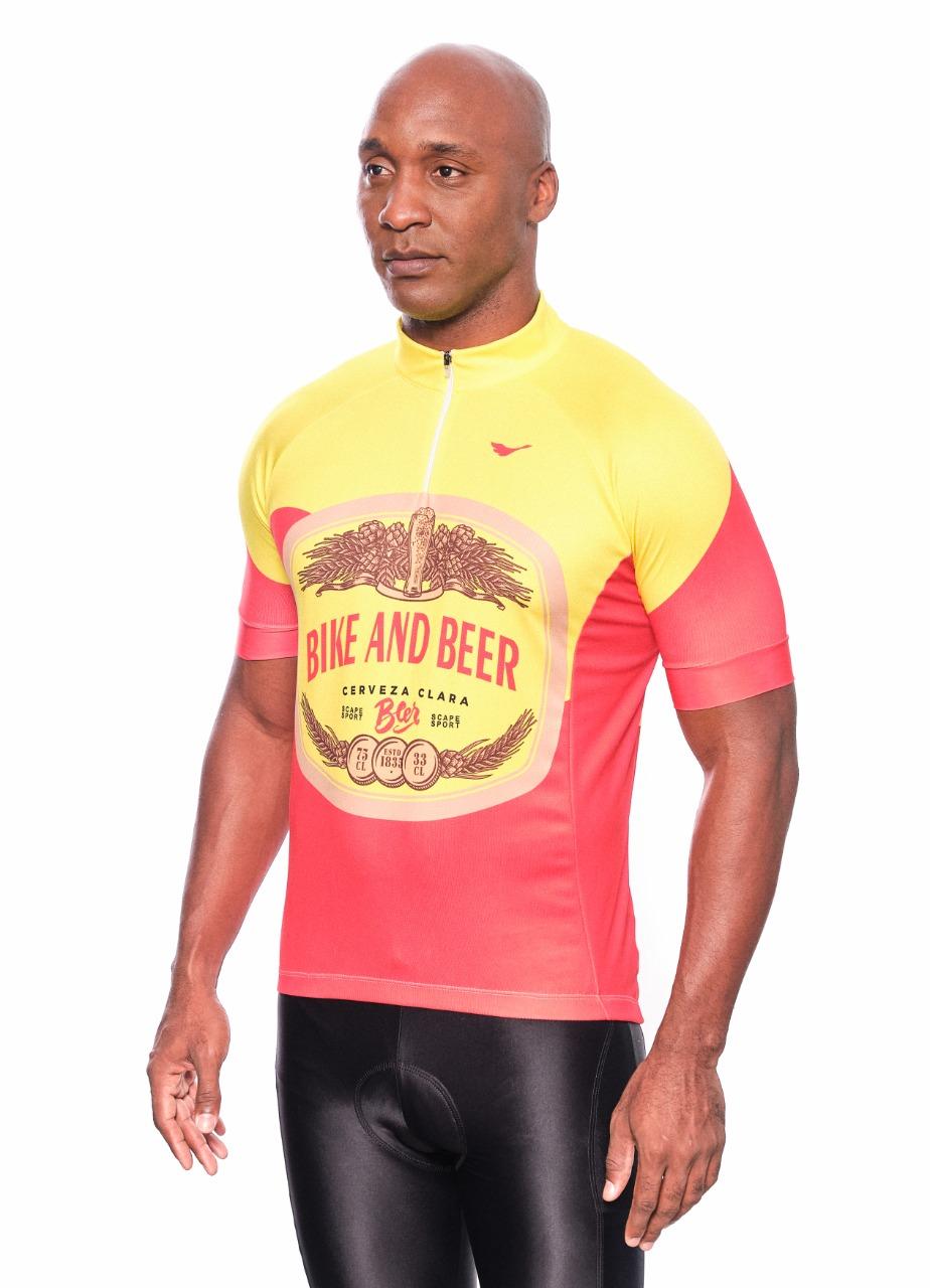 Camisa Ciclismo Bike and Beer