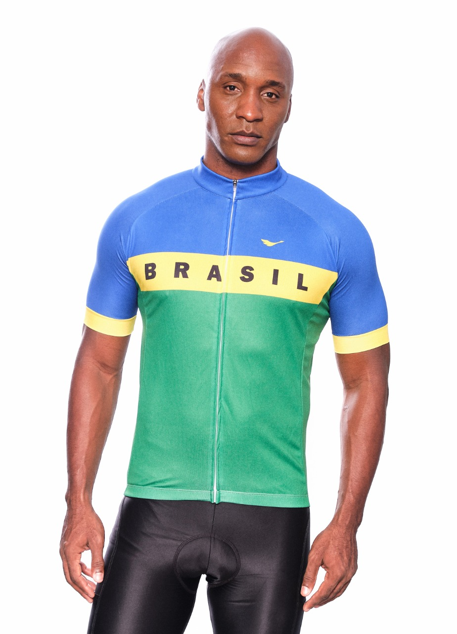 Camisa Ciclismo Brasil 2.0