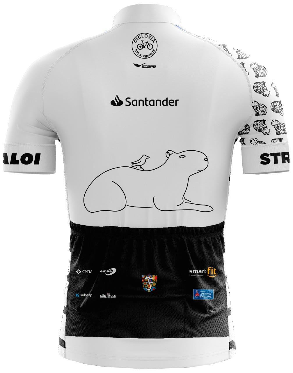 Camisa Ciclismo CAPA branca