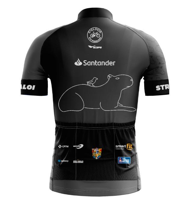 Camisa Ciclismo CAPA Preto