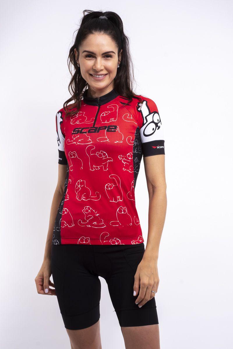 Camisa Ciclismo Cat