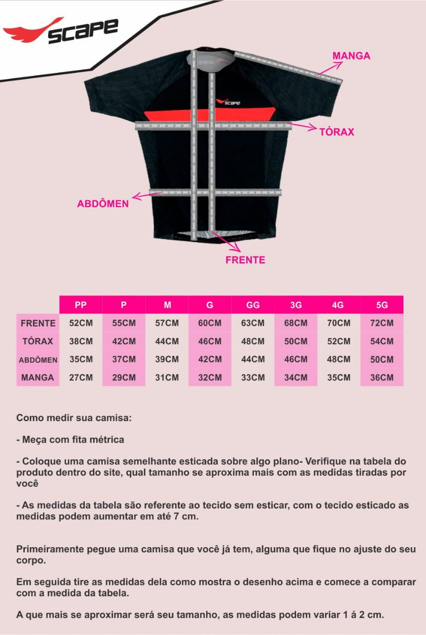 Camisa Ciclismo Cat Black