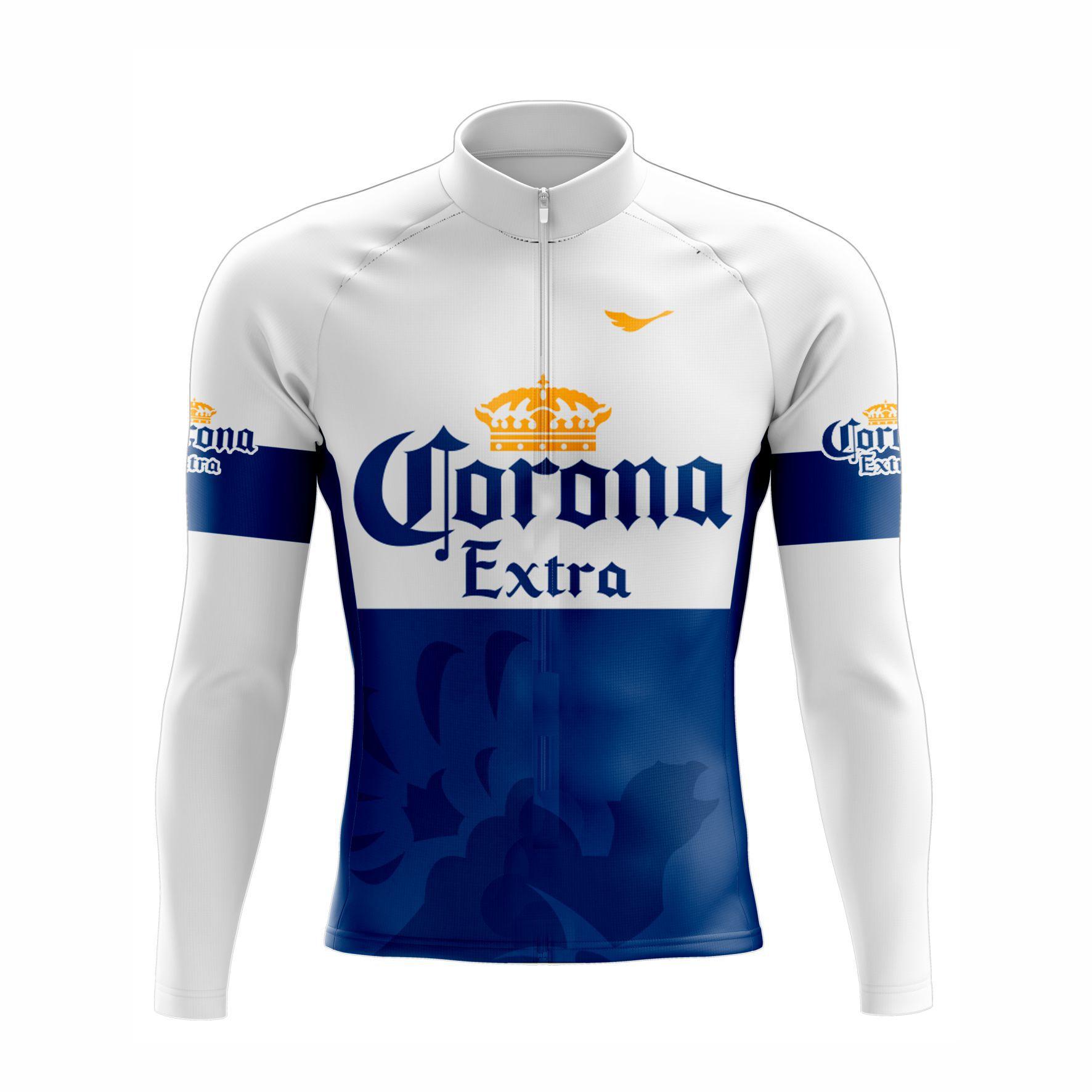 Camisa Ciclismo Cerveja Corona Manga Longa