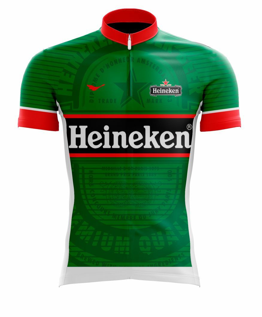 Camisa Ciclismo Cerveja Heineken