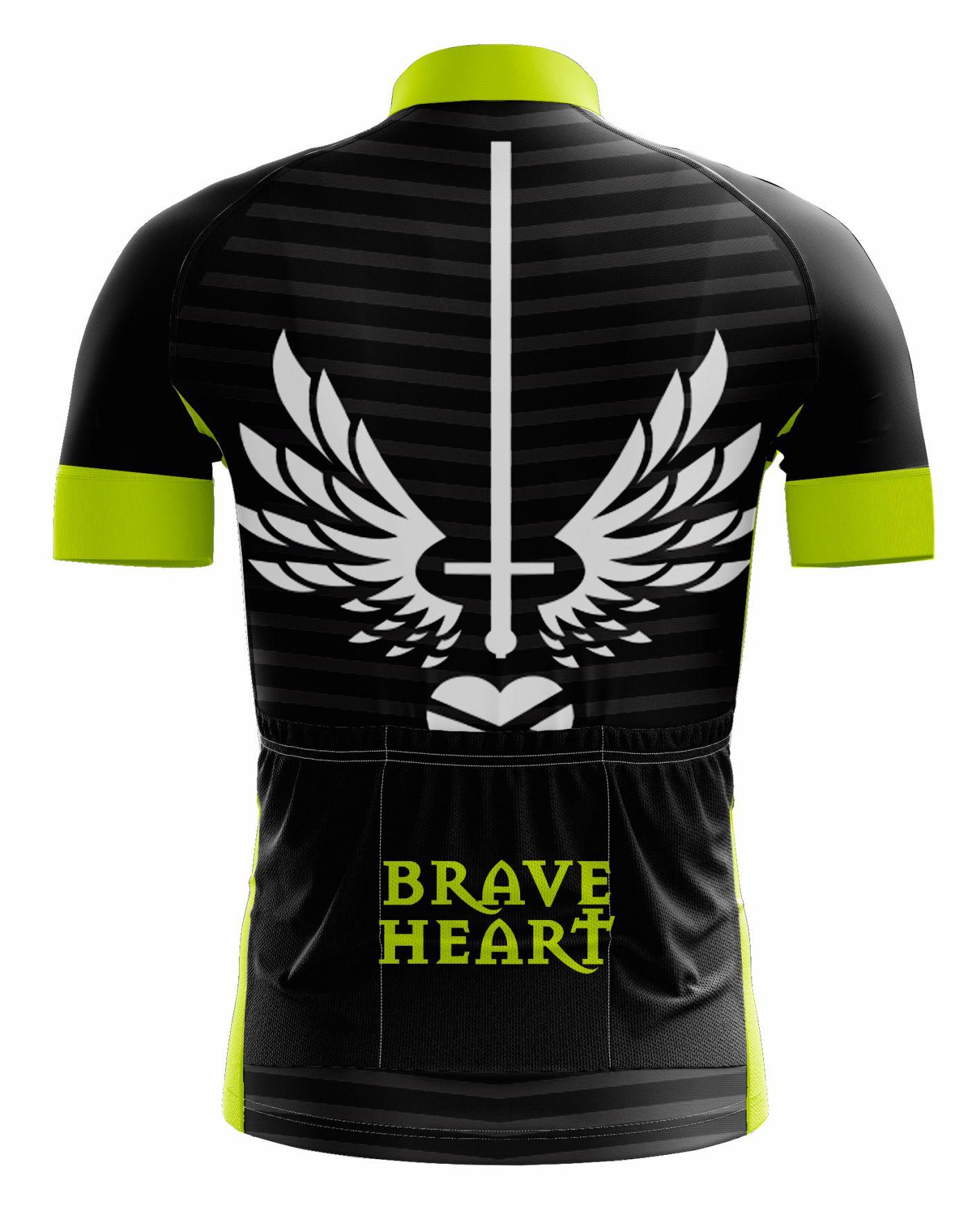 Camisa Ciclismo Coração Valente