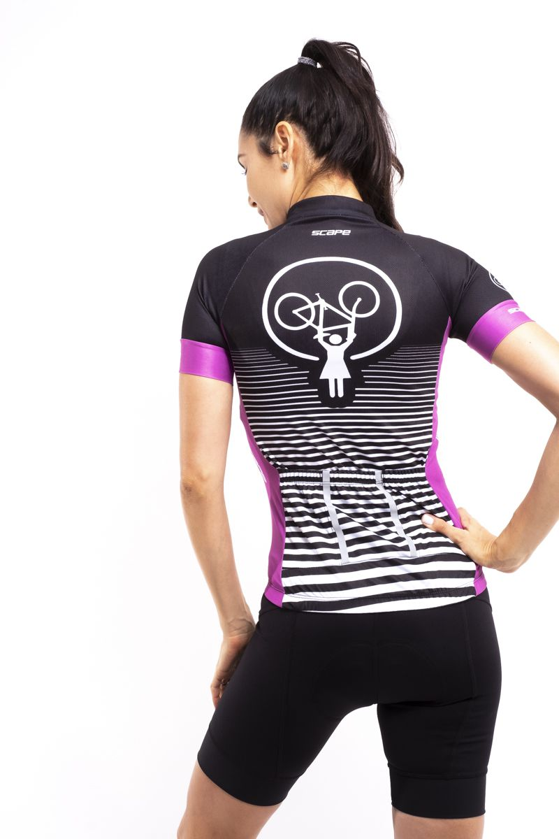 Camisa Ciclismo Force