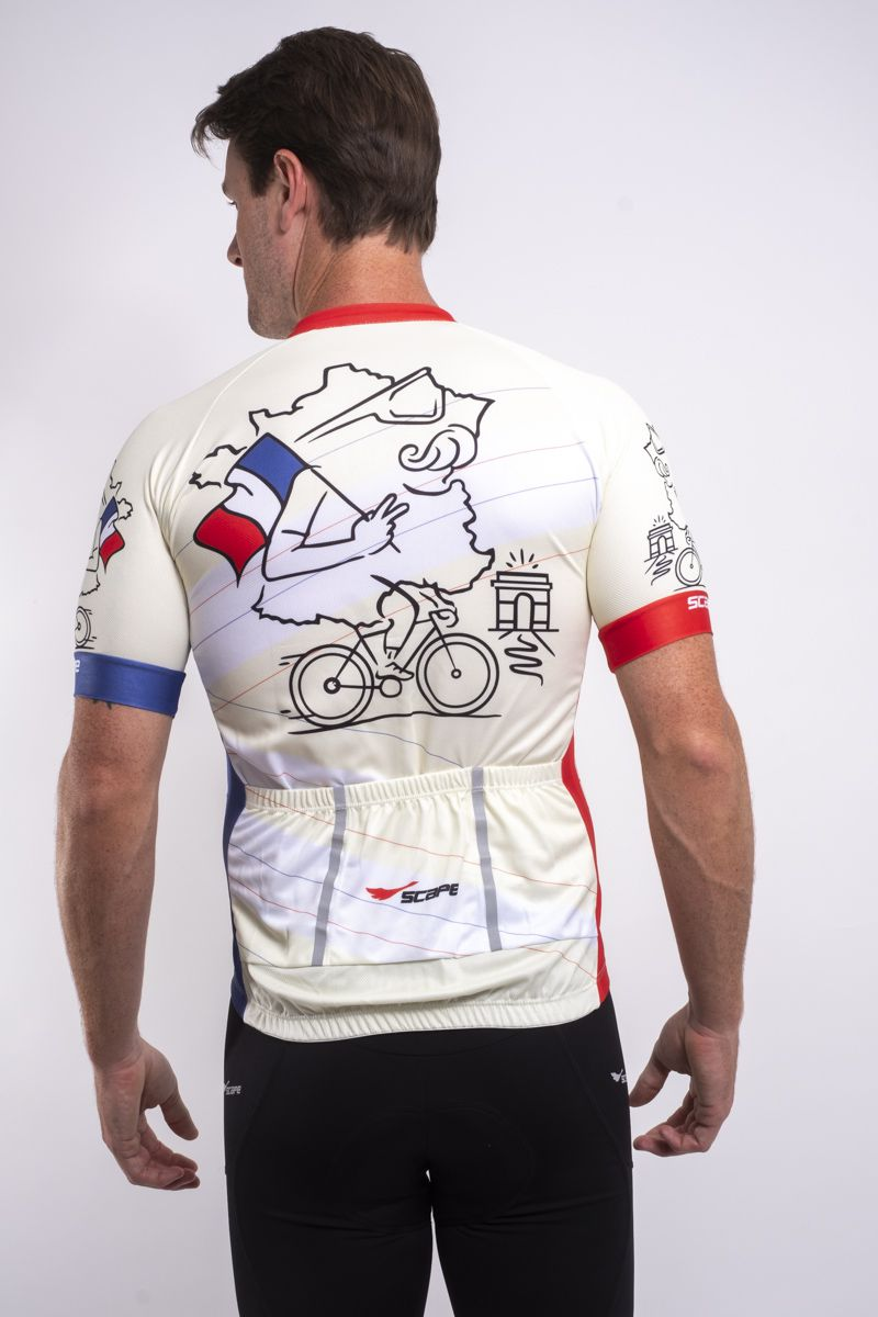 Camisa Ciclismo France