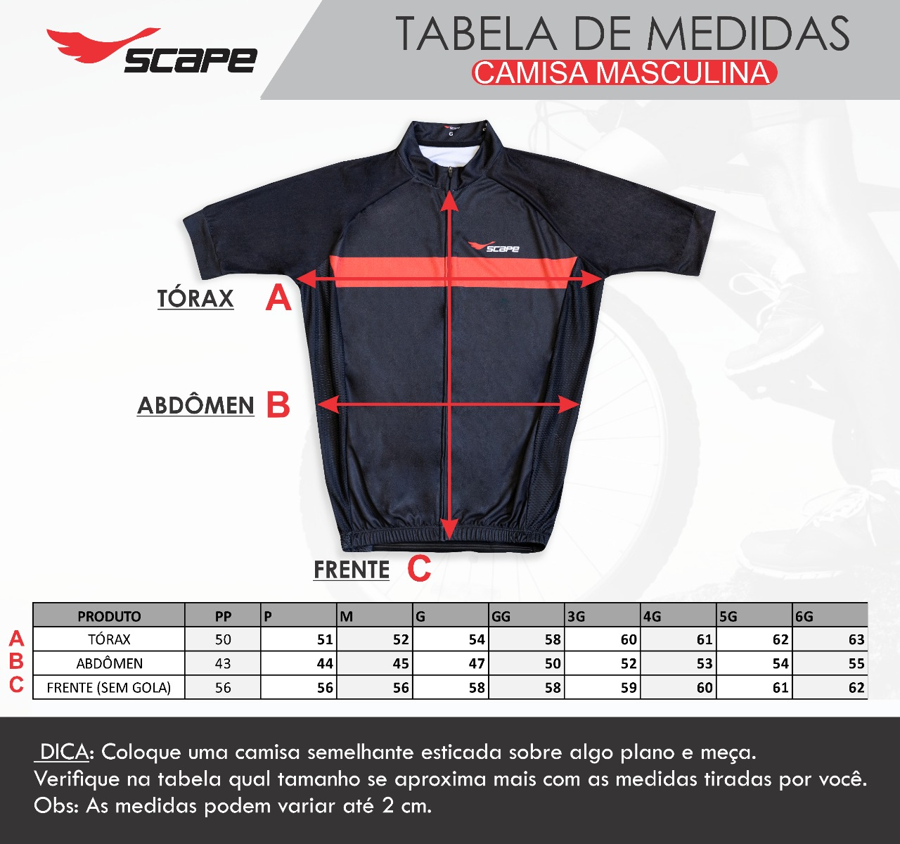 Camisa Ciclismo Garra
