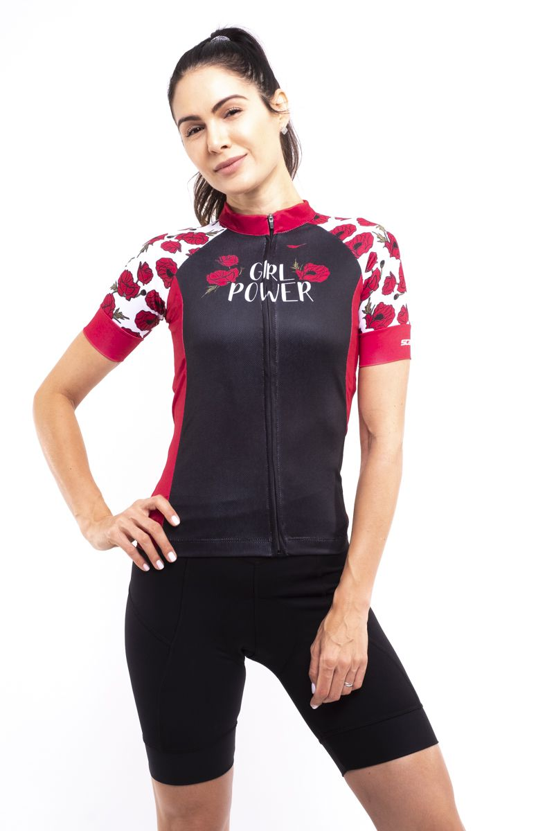 Camisa Ciclismo Girl Power