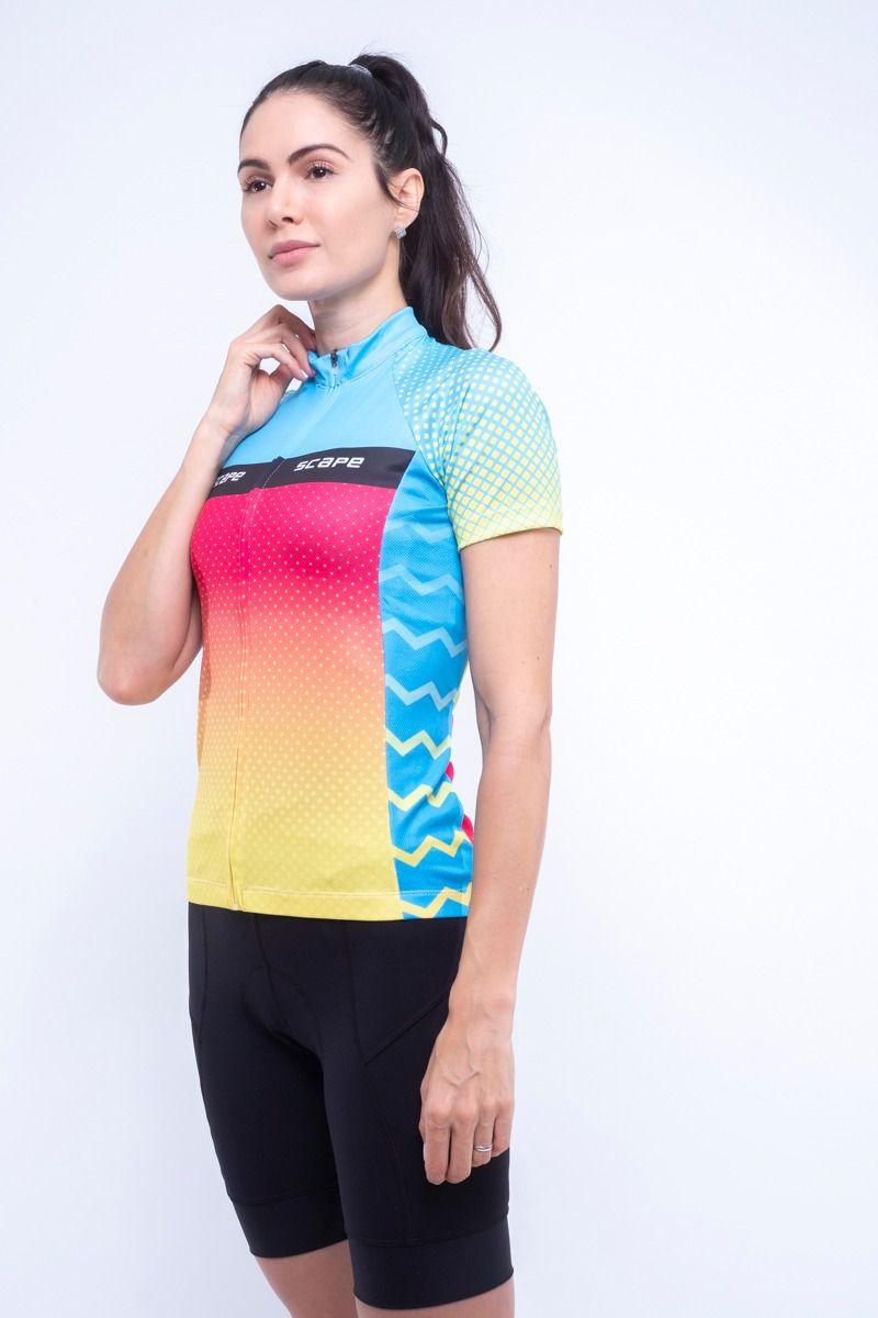 Camisa Ciclismo Happy