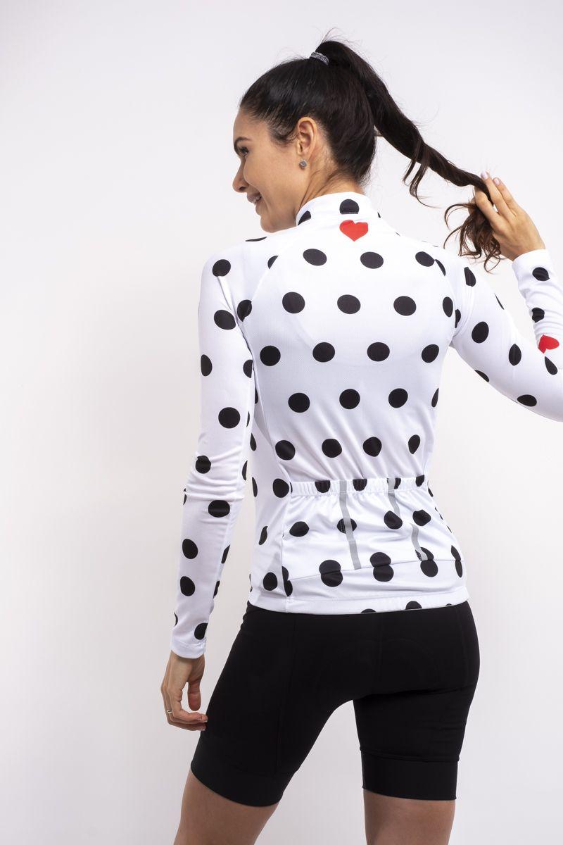 Camisa Ciclismo Heart Manga Curta
