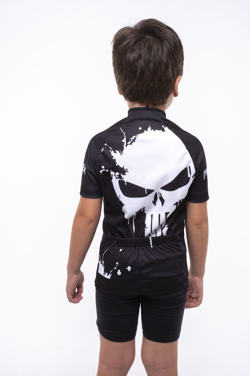 Camisa Ciclismo Infantil Justiceirinho