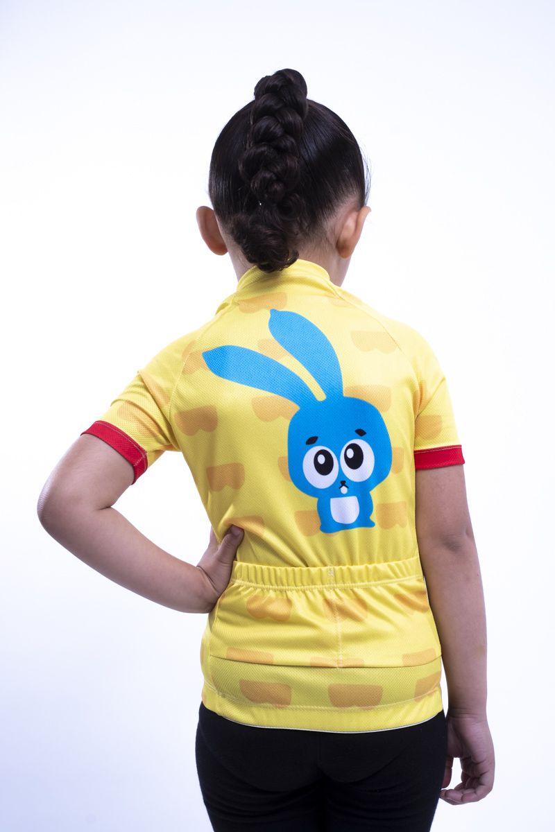 Camisa Ciclismo Infantil Monica