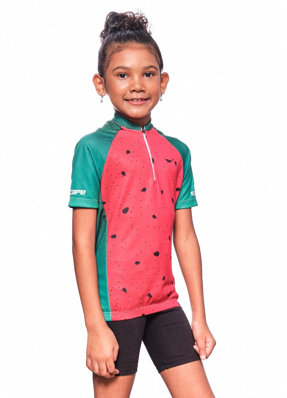 Camisa Ciclismo Infantil Semente