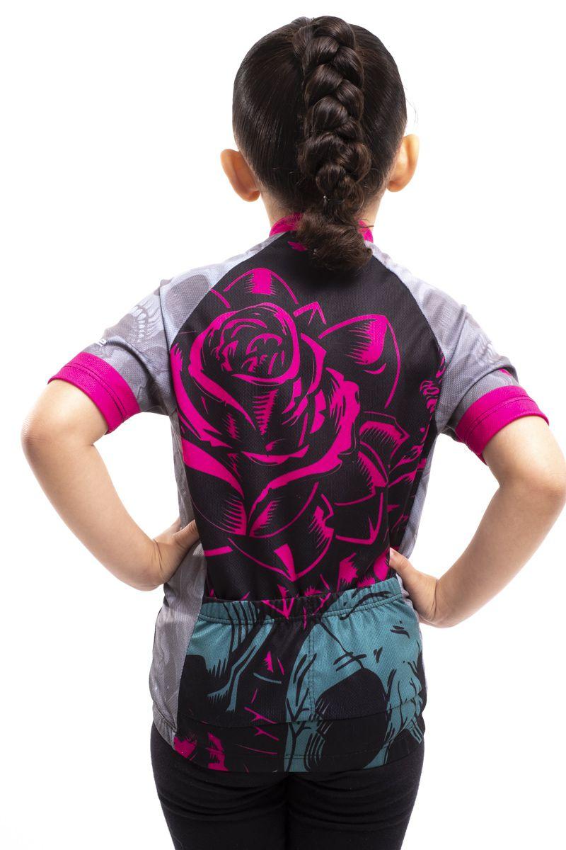 Camisa Ciclismo Infantil Trevosinha